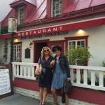Najstarszy budynek w Quebec-restauracja z pysznym jedzeniem