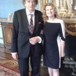 dr Pawlak był organizatorem Konferencji medycznej w Ambasadzie Polskiej w Paryżu /IX.2016/