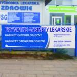 ...od strony ul.Wyszyńskiego